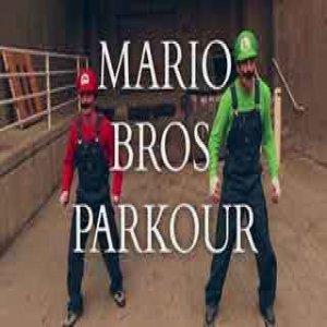 マリオとルイージが街を駆け抜ける!スーパーマリオブラザーズをリアルに再現!