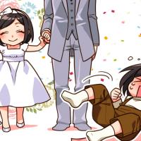 私も結婚式に行きたかったのに~!(・・いや、あのー・・・)