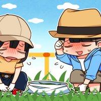 草むしりは大変~(*´Д`)