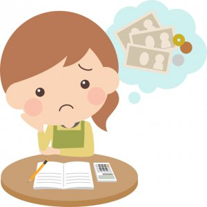 一日の食費が1000円だとしても月で3万円となってしまう事実